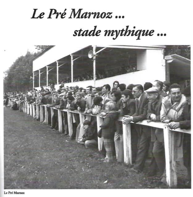 Le Pré Marnoz ... stade mythique ...